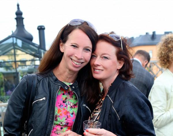 Petra Nedfors och Camilla Wagner