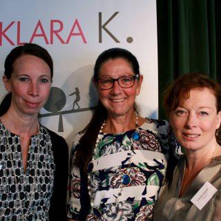 Petra Nedfors, Lena Ahlström och Camilla Wagner