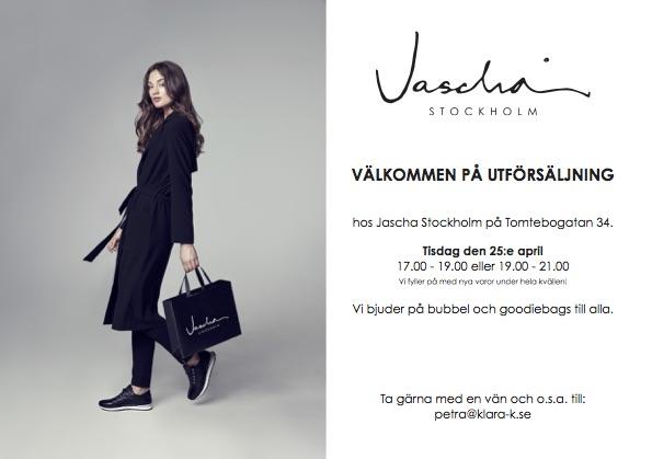 Exklusiv Förtur Jaschas Utförsäljning