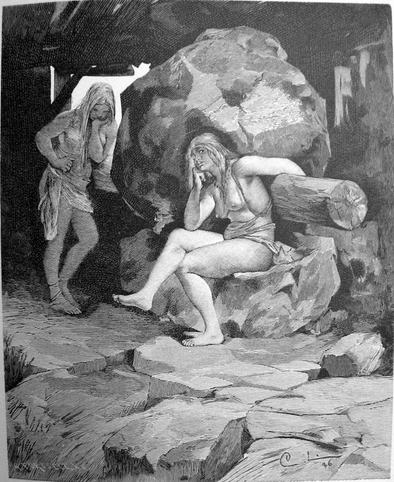 Grottekvarnen Och Fenja Och Menja