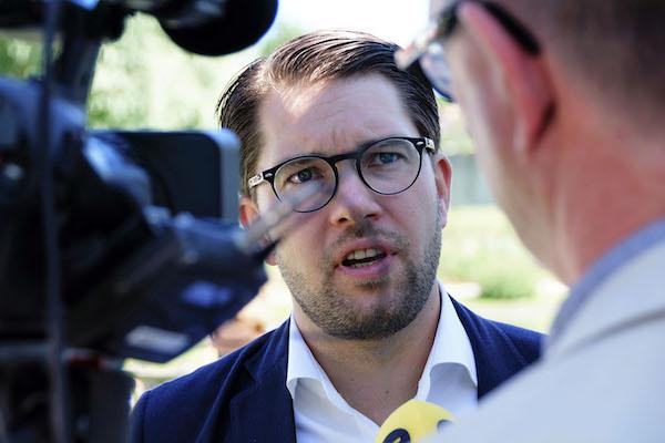 Jimmie Åkesson Svarar Inte Om Jämställdhet